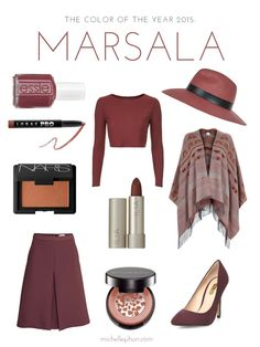 It's official: The Pantone Color of the Year of 2015 is… Marsala. #ZenniFashionChallenge