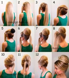 170 Easy Hairstyles Step by Step DIY hair-styling can help you to stand apart from the crowds 170 Acconciature facili Step by Step L'acconciatura fai-da-te può aiutarti a distinguerti dalla folla – Pagina 113 – My Beauty Note Fancy Hairstyles, Hairstyles For School, Braided Hairstyles, Simple Hairstyles, Hairstyle Ideas, Hair Issues, Hair Designs, Bridal Hair, Hair Inspiration
