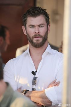 mcavoys: Chris Hemsworth photographed by Patrik Giardino for Men's Health UK.