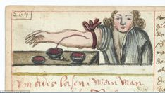 Disgusting: Another well-kept image, circa 1675, shows the practice of bloodletting, or w...