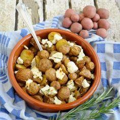 Op Griekse wijze Feta, Cereal, Oven, Potatoes, Breakfast, Morning Coffee, Potato, Ovens, Breakfast Cereal