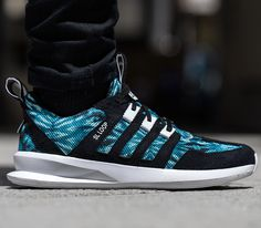adidas Originals SL Loop Runner – Blue / Black – White