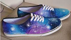 Galaxy Shoes - Alternative Brand. $63.00, via Etsy.