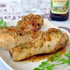 Chicken with honey beer sauce recipe - Spanish Food and Cuisine