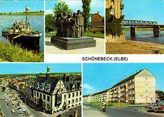 schönebeck elbe  | Schönebeck ( Elbe ) , DDR ; ungelaufene AK | eBay