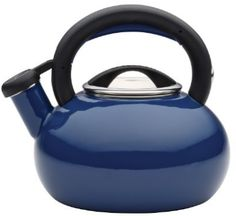 The Circulon Sunrise Tea Kettle provides style and functionality for everyday cups of tea, brewing coffee, and making hot chocolate and other hot beverages. Circulon has brought more than 25 years of style and functionality to the home, a