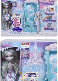 Ever After High EPIC Winter Sparklizer Doll set (PRE-ORDER)