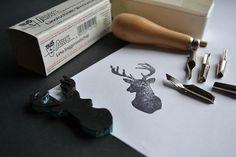 Deer stamp.