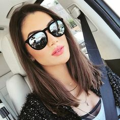 camila coelho in RayBan Erika Velvet Edition - Best sunglasses and fashion blog in one spot. A one stop spot connecting you to the trendiest sunglasses and hottest fashions sunglasses.
