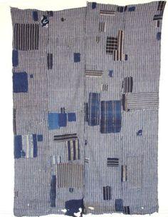 Japanese Antique Textile Boro Futon Cover