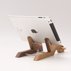Wood Tablet Stand / iPad Stand / Tablet Holder / iPad Stand Kitchen / iPhone Stand / iPad Mini Stand ALTAIR - Samsung Phone Holder - Ideas of Samsung Phone Holder - Dual Docking Station / iPad Stand / Wooden Tablet by lessandmore Dashboard Phone Holder, Desk Phone Holder, Iphone Holder, Iphone Stand, Cell Phone Stand, Tablet Holder, Tablet Stand, Ipad Kitchen Stand, Wood Ipad Stand
