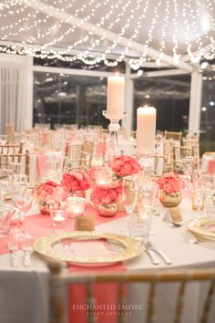 71 Best Coral Wedding Decorations images in 2019 | Coral wedding