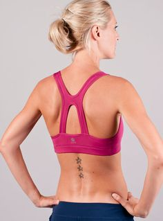 And so the sports bra designing began. Boise bra from S12.