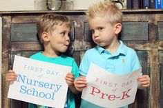 [Photo Ideas] Back To School Signs + Funny Faces via @chickabug