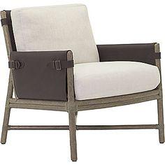 McGuire Furniture: Bercut Lounge Chair: A-115