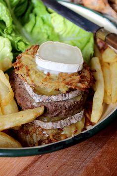 Patata-burger #recette #burger #facile
