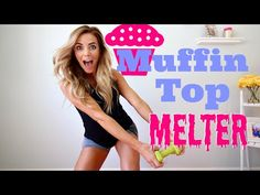 How to Get Rid of Love Handles   Muffin Top Melter - YouTube