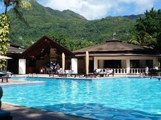 the hotel I stayed at in Seychelles