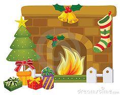 Cartoon Christmas Fireplace | quotes.lol-rofl.com