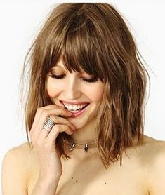 Popular Bob Hairstyles 2018 with Fringes