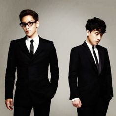 BIGBANG ♡ TOP and Seungri
