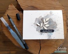 Stampin Up Karten, Stampin Up Cards, Card Making Templates, Diy Desk, Anniversary Cards, Diy Cards, Abstract Expressionism, Hand Lettering, Birthday Gifts