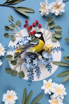 птицы из бумаги - Самое интересное в блогах