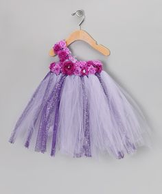 Take a look at this Lilac Rose Tutu Dress - Infant, Toddler & Girls on zulily today!