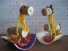 Cork Rocking Horse Craft
