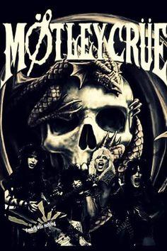 Mötley Crüe Nikki Sixx, Girls Girls Girls, Glam Metal, Tommy Lee, Glam Rock, Motley Crue Albums, Hair Metal Bands, Hair Bands, Rock Band Posters