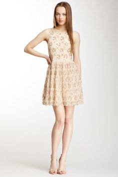 Valentino Sequin Embellished Lace Dress by Dress The Part on @HauteLook