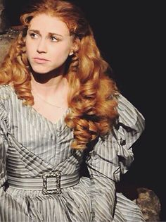 Samantha Hill as Cosette... She is AMAZING!