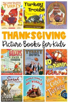 What are your favorite Thanksgiving picture books to share in the classroom? I have been building my collection over the years and am ready to share some great books with you!