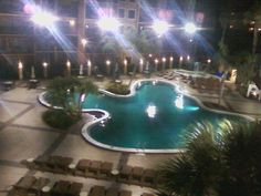 When I was in florida the pool we had, can I say awesome?!