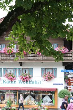 Painted house in the pretty village of Oberammergau,.Germany. This is where they have the Passion Play, every ten years. I saw it in 2010.