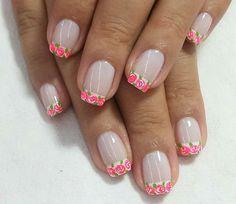 Simple Nails, Easy Nails, Short Nail Designs, Mani Pedi, Short Nails, Opi, Nail Stuff, Margarita, Diana