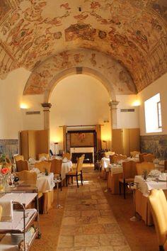 Restaurant of the Hotel-Museaum St Paul Convent, #alentejo, Redondo Portugal