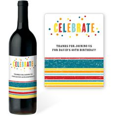 Carnivale Wine Labels