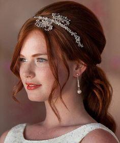 Half Up Half Down Wedding Hairstyles http://therighthairstyles.com/half-up-half-down-wedding-hairstyles-20-stylish-ideas-for-brides/