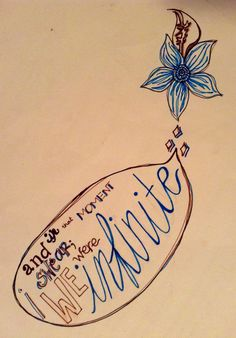 Perks quote doodle courtesy of moi.
