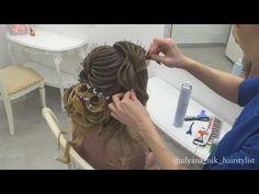 Текстура,оформление,прическа текстурный пучок. - YouTube