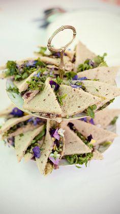 Mini sandwich végétariens - Crédit Photo: Photos Marianne Taylor - Créations culinaires: Marie Chemorin - La Fiancée du Panda Blog Mariage & Lifestyle
