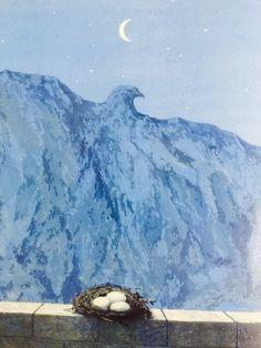 René Magritte(1898ー1967)「The Domain of Arnheim(アルンハイムの地所)」(1962)