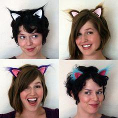 Cat ears New Year's Eve Hats, Cat Ears Headband, Right Meow, Burning Man, Headgear, Holiday Ideas, Headbands, Birthday Parties, Funny Stuff