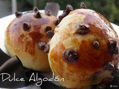 Dulce Algodón: Bollitos con Chips de Chocolate
