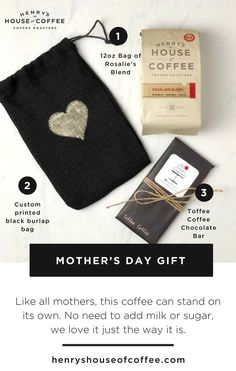 Shop Mother's Day Gift only $22.00 | In honor of #MothersDay we've created a gift set to be shared with the ones you love, especially your mother. This blend is slightly sweet & light on the palate. Like all mothers, this #coffee can stand on its own. No need to add milk or sugar. #coffeetime #coffeeaddict #houseofcoffee #henryshouseofcoffee #coffeelife #coffeetime #coffeetimes #sfcoffee #coffeeday #coffeebeans #roastingcoffee #coffeeblogger #caffeine #caffeinefix #coffeeSF