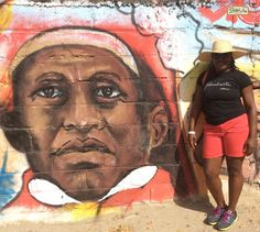 Dessalines Ville/ Marchand Dessalines visiting the site of Jean Jacques Dessalines home with his wife Marie Claire Heureuse