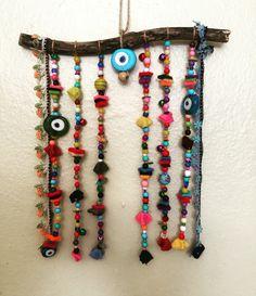 Driftwood, nazarlık, turkish eye, amulet