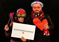 """#SoleburySchool #English Dept. Head Diane Downs and #History Dept. Head and alumnus Peter Ammirati '82 also """"dressed up"""" for our #LOVEsoleburyschool campaign. We are happy to have such dedicated #teachers. Please consider making a donation by clicking on the following link: http://www.solebury.org/giving/onlinegiving_qc.aspx"""