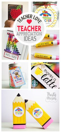 New post in Partymazing: Easy Teacher Appreciation Gift Ideas. Visit www.partymazing.com